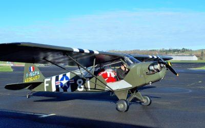 A Graulhet, le père Noël est arrivé en avion…